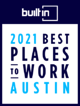 BuiltIn - 2021 Best Places to Work in Austin